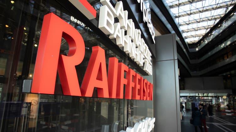 Die Raiffeisenbank Zug gewährt nicht allen politischen Vereinen ein Konto. (Bild: Matthias Jurt (Zug, 9. April 2021))