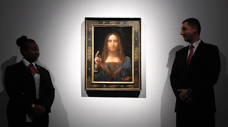«Salvator Mundi» von Leonardo da Vinci - oder doch nicht? Louvre-Experten sähen Zweifel an der Urheberschaft. (Andy Rain / EPA)