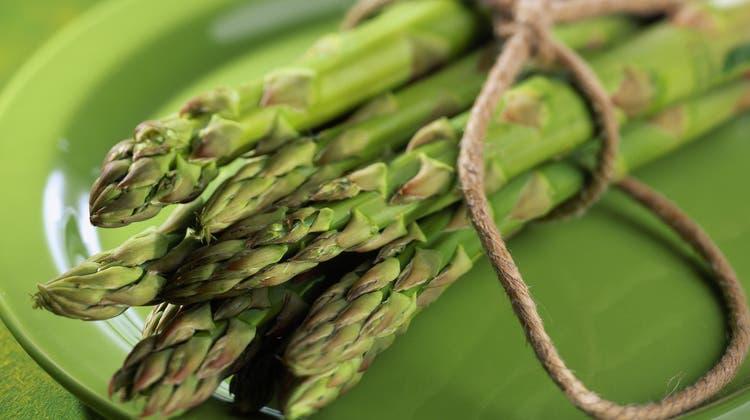 Hätten Sie uns ein tolles Rezept für grünen Spargel?