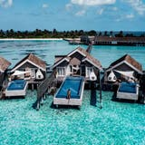 Sind unbeschwerte Ferien im Ausland, wie hier in den Malediven, dank der internationalen Impfaktionen schon bald wieder möglich? (Pd)
