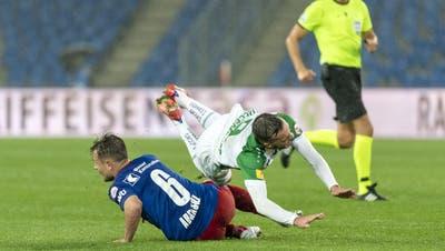 Der FC Basel erkämpft sich vor seinen Fans ein knappes 1:0 gegen St.Gallen