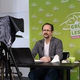 «Ideal wäre es, wenn sie bis nach den Sommerferien einen Konsens schmiedet»: Grünen-Präsident Glättli übereine mögliche neue Allianz. (Keystone (Bern,27. März 2021))