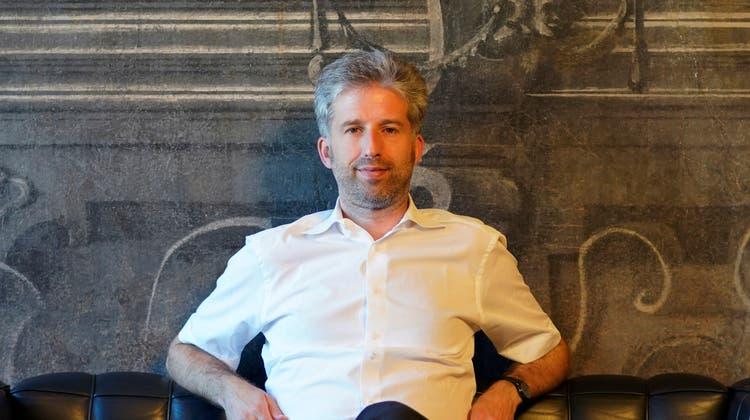 Bringt seine Partei einmal mehr in die Bredouille: Der Tübinger Oberbürgermeister Boris Palmer. (Ronald Wittek/Keystone)