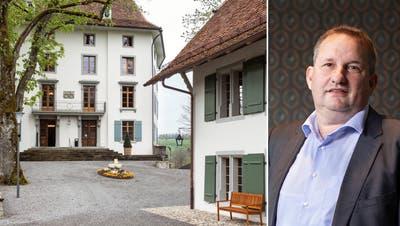 Samuel Bachofner ist Resortmanager des Seminarzentrums Rued. (Britta Gut)