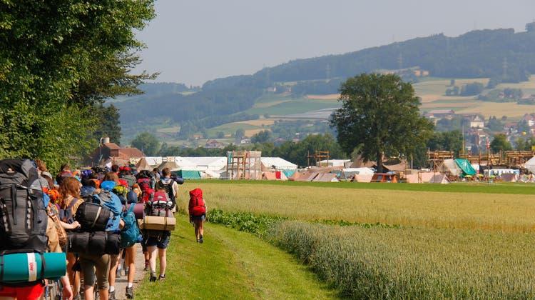 Die jährlichen Pfadihauptlager, darunter das Pfingstlager, dürfen dieses Jahr stattfinden. (zvg)