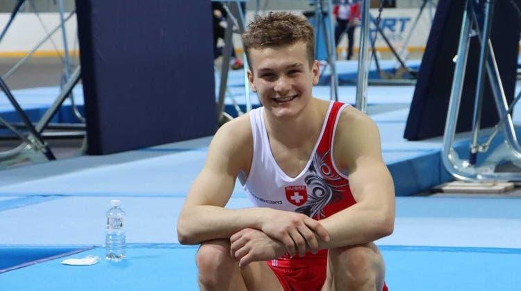 Noa Wyss schaffte es ins Halbfinale der Trampolin-Junioren-Europameisterschaft. (Zvg)