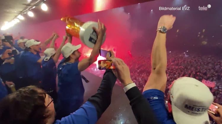 EV Zug ist Schweizer Meister 2021 – die Spezialsendung von Tele 1 zum Nachschauen