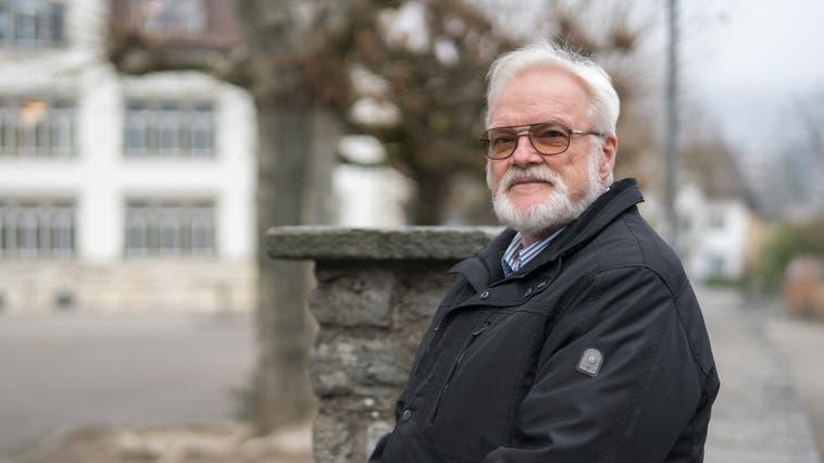 Peter Heiniger war mit Unterbrüchen seit 1986 im Gemeinderat in Turgi, viele Jahre Gemeindeammann. Ende 2016 gab er da Amt ab. (Bild:14.12.2016) (Mario Heller)