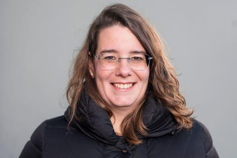 Jeanine Glarner, Grossrätin FDP, setzt sich gegen das CO2-Gesetz ein.