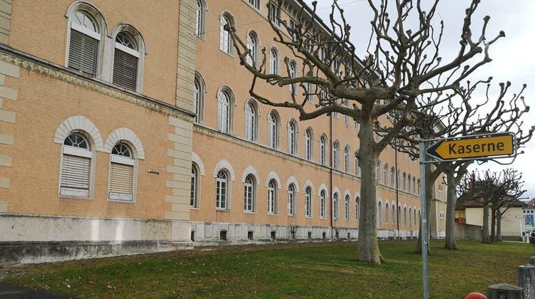 Das VBS möchte die historischen Gebäude entlang der Laurenzenvorstadt weiter nutzen. (Urs Helbling)