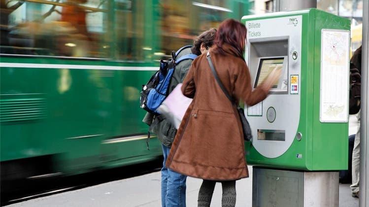 Der Tarifverbund Nordwestschweiz transportierte 2020 deutlich weniger Fahrgäste als im Vorjahr. (TNW)