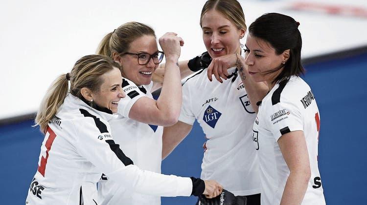 Weltmeisterin Silvana Tirinzoni verrät das Erfolgsgeheimnis: «Wir sind ein sehr demokratisches Team»