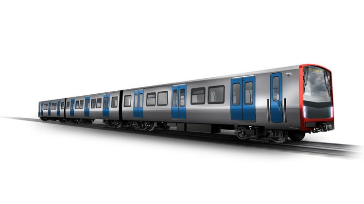 Visualisierung des Stadler-Zugs für die LissabonerMetro. (Bild: PD)