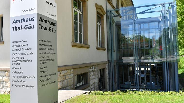 Das Amtsgericht Thal-Gäu verurteilt den Beschuldigten wegen versuchter vorsätzlicher Tötung seiner Exfrau zu einer Freiheitsstrafe von acht Jahren und zwei Monaten. (Bruno Kissling)