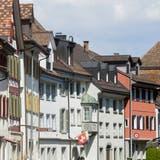 Altstadthäuserreihe entlang der Seestrasse. (Bild: Donato Caspari)