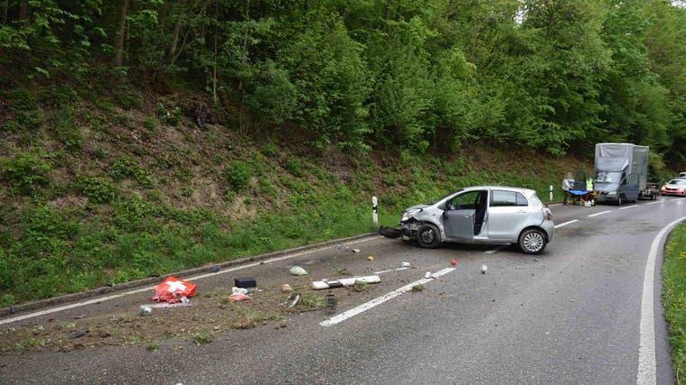 Auf der Bernstrasse kam es zum Unfall. (Kapo SO)