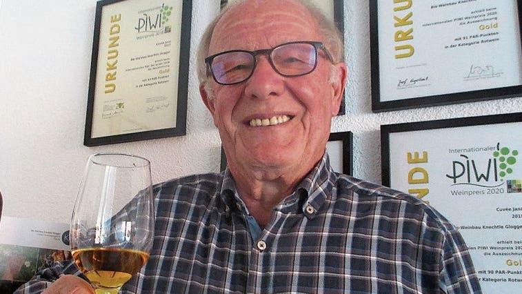 Vom Spinner zum Vorbild: Ehrung für den Appenzeller Pionier der giftfreien Weine