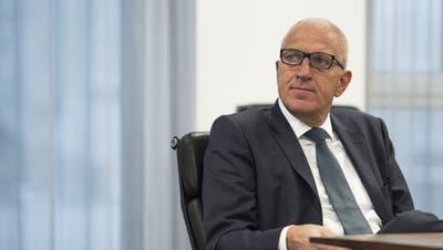 Der ehemalige Raiffeisen-Chef Pierin Vincenz am Februar 2015. (Gian Ehrenzeller / KEYSTONE)