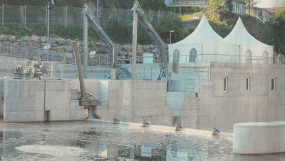 Bis das Wasserkraftwerk der Regionalwerk Toggenburg AG so dastand, dauerte es fast 14 Jahre. (Bild: PD)