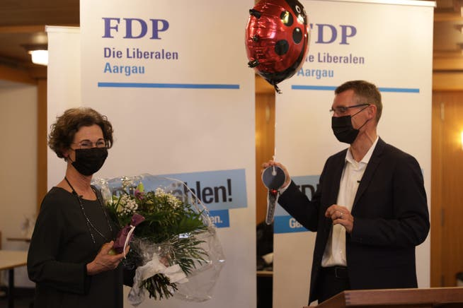 Vorgänger Lukas Pfisterer übergab Freiermuth symbolisch einen Schlüssel.