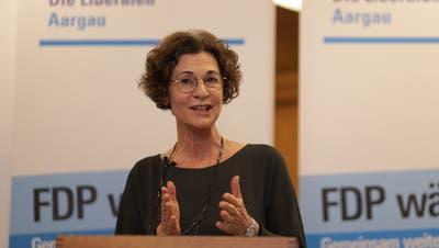 Sabina Freiermuth ist neue Präsidentin der FDP Aargau. (Chris Iseli)