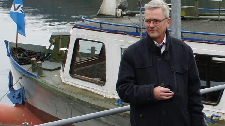 Der neue Kapitän des «Löwen von Laufenburg», Marcus van Nijenhoff, hofft, dass über Auffahrt und Pfingsten viele Gäste kommen. (Reinhard Herbrig (11. Januar 2021))