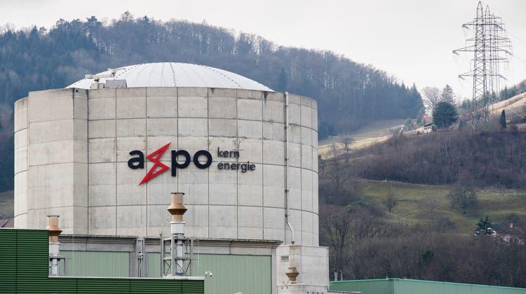 Wird nach den jährlichen Revisionsarbeitenseit dem Wochenende wieder hochgefahren: Das AKW Beznau desEnergiekonzerns Axpo. (Keystone)