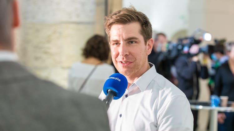 Grünen-Präsident Daniel Hölzle. (Fabio Baranzini)