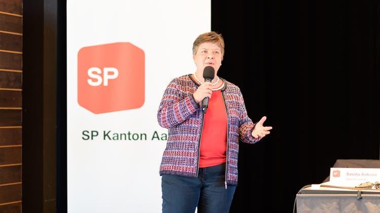 Anja Gestmannam SP-Parteitag 2019 (zvg / WYS)