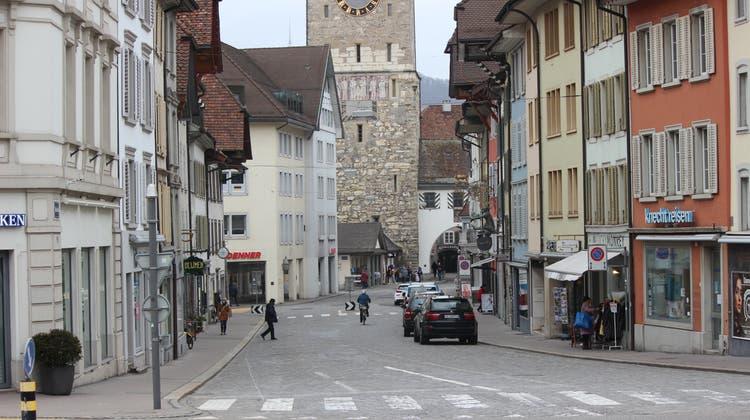 Die Vordere Vorstadt liegt zwischen Regierungsgebäude und Altstadt. (Nadja Rohner)