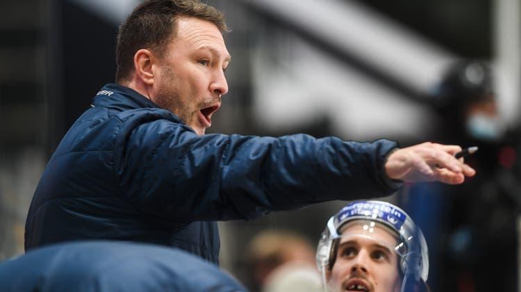 Jeff Tomlinson soll Kloten zurück in die höchste Schweizer Eishockeyliga führen. (Bild: Alessandro Crinari / Keystone (Lugano, 24. Januar 2021))
