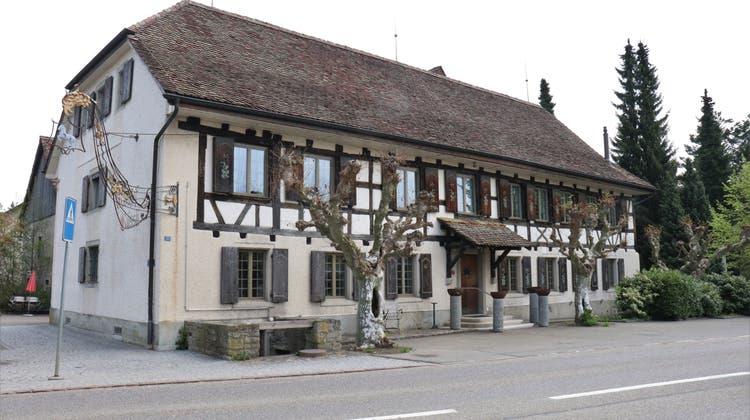 Der Landgasthof Rössli in Würenlos. (Bild: Philipp Zimmermann)