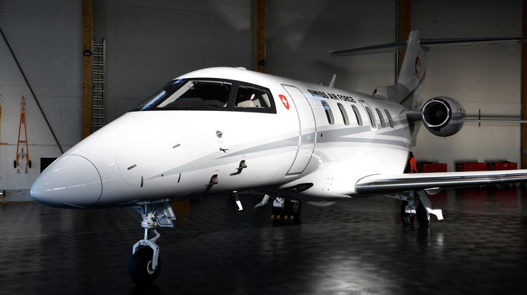 Die Bundesräte waren letztes Jahr rund 185 Stunden mit Flugzeug und Helikopter unterwegs, unter anderem mit demBundesratsjet PC-24. (Keystone)