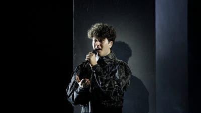 Gjon's Tears bei der Probe in Rotterdam. (EBU /Thomas Hanses)