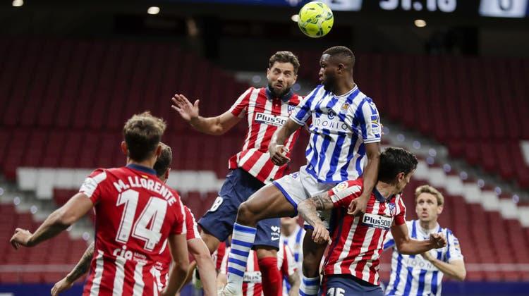 Atlético hat gegen Real Sociedad die Tabellenführung untermauert. (Keystone)
