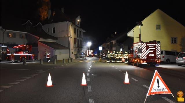 So sah der Feuerwehreinsatz in 2019 in Basthal aus. (zvg)