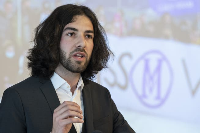 Zeigt sich gelassen trotz Anzeigen: Nicolas A. Rimoldi von der Bewegung «Mass-Voll».