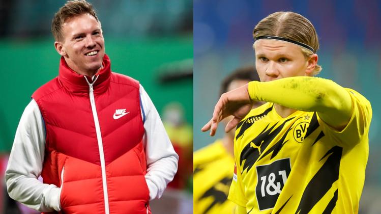 Ist wohl rechtzeitig fürs Finale wieder fit: Stürmerstar Erling Haaland. (Keystone)