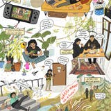 Von Corona gezeichnet: der Comic von Patrick Chappatte.