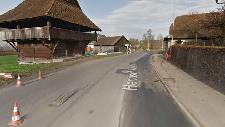 Hier dürfte sich der Unfall ereignet haben. (Screenshot: Google Street View)