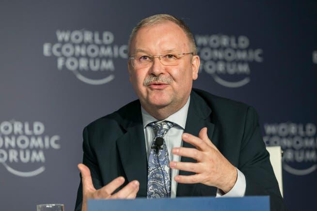 Alois Zwinggi, Geschäftsführer des WEF, geht immer noch von einer physischen Durchführung im August aus.
