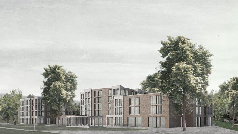Das Siegerprojekt Margerite für den Neubau des Alterszentrum Würenlos wurde am 24.1.2019 vorgestellt. Mit baulichen Anpassungen bis zur Eingabe des Baugesuchs ist aber zu rechnen. (zvg)