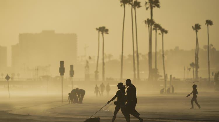 Kalifornien verlor letztes Jahr über 180'000 Einwohner. Im Bild: Long Beach. (Keystone)