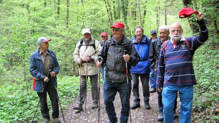 Maiwanderung der Wandersleut vom Oberdorf