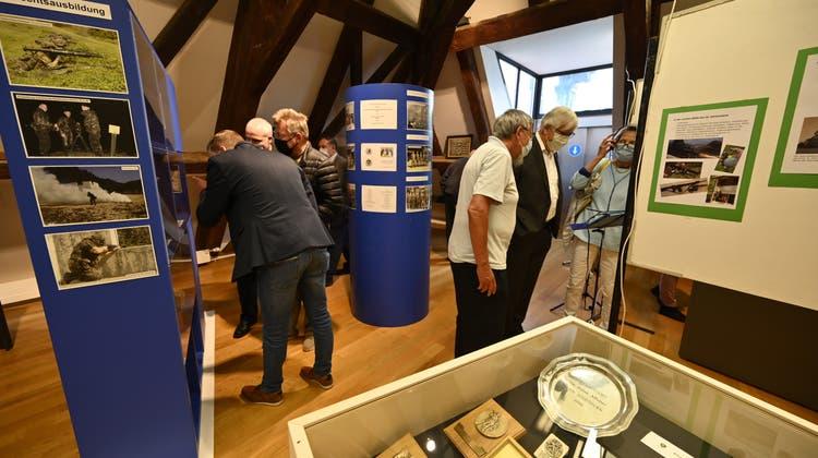Sonderausstellung im Kultur-Historischen Museum Militärverein Grenchen (Oliver Menge / Nikon Z6)