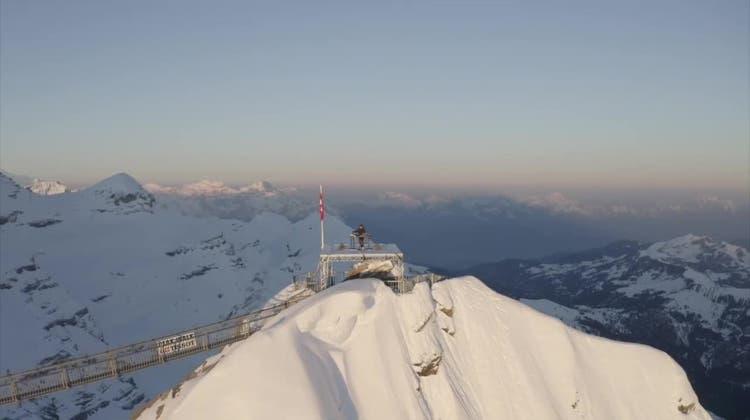 Ungewöhnlich: ein Elektro-Konzert auf den Gipfeln der Waadtländer Alpen