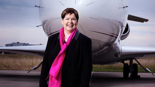 Helene Niedhart, Gründerin und Chefin von CAT Aviation. (Bild: Paolo Dutto)