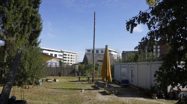 Auf dem Abenteuerspielplatz am Spatzenweg will die Gemeinde ein zweites Kijuzu erstellen. (Urs Byland)