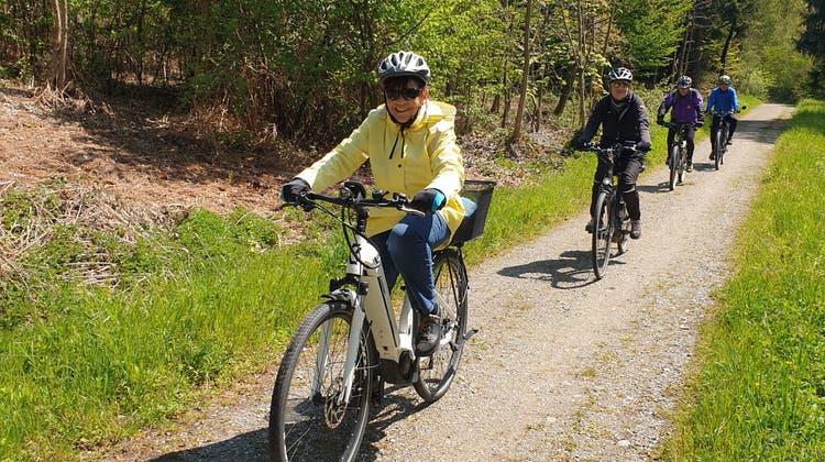 Pro-Senectute-Radtour vom Montag, 14.6.2021: Mit dem Velo oder E-Bike ins Ruedertal