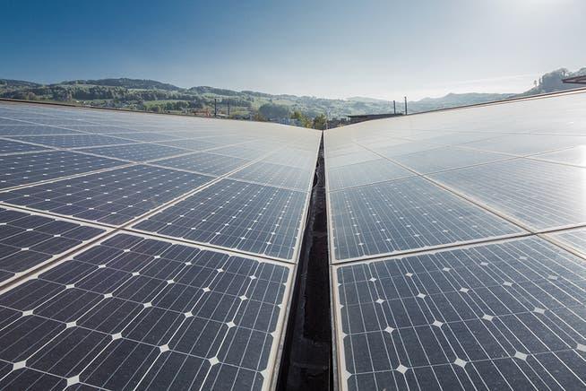 Beim Ausbau der Solarenergie muss der Kanton Aargau in den nächsten Jahren zulegen, will es seine Klimaziele erreichen.